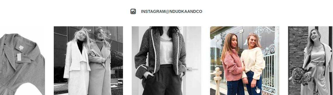 разработка веб-сайта одежды